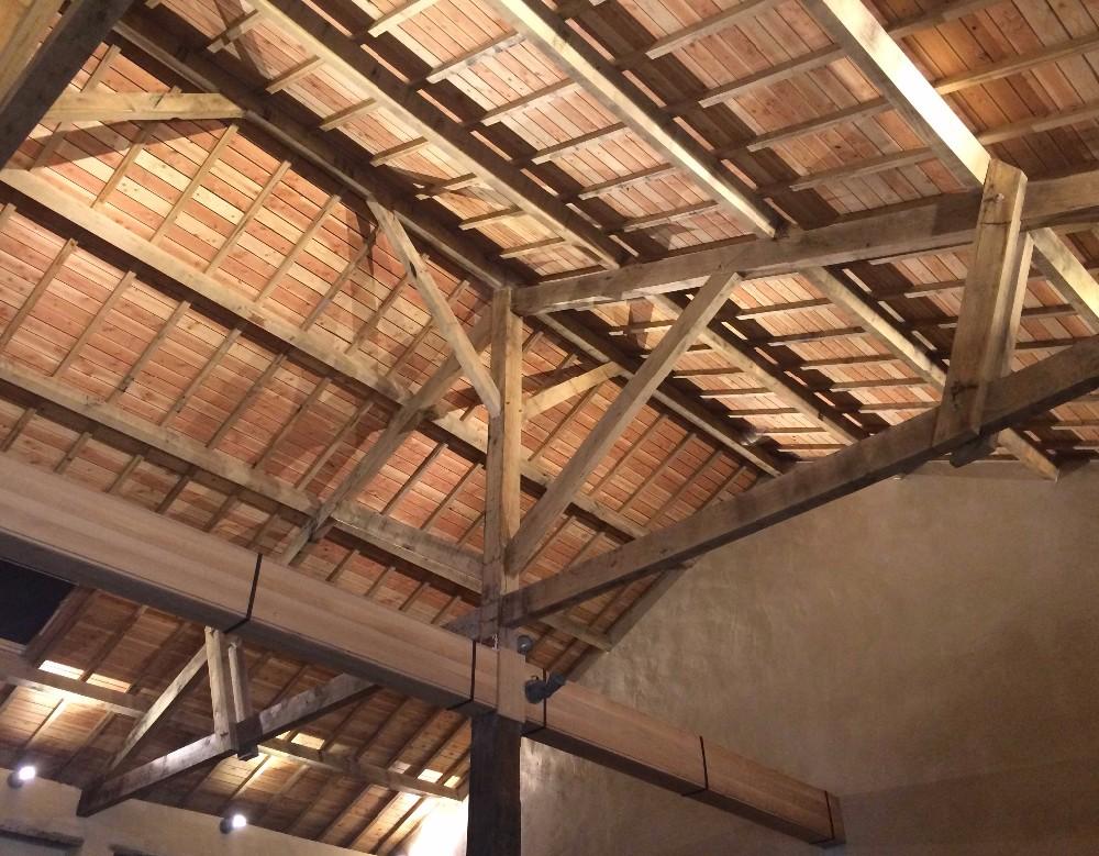 image42 - mur ossature bois charpente bois/metallique metal bardage bois composite caillebotis fabrication commande numerique construction assemblage