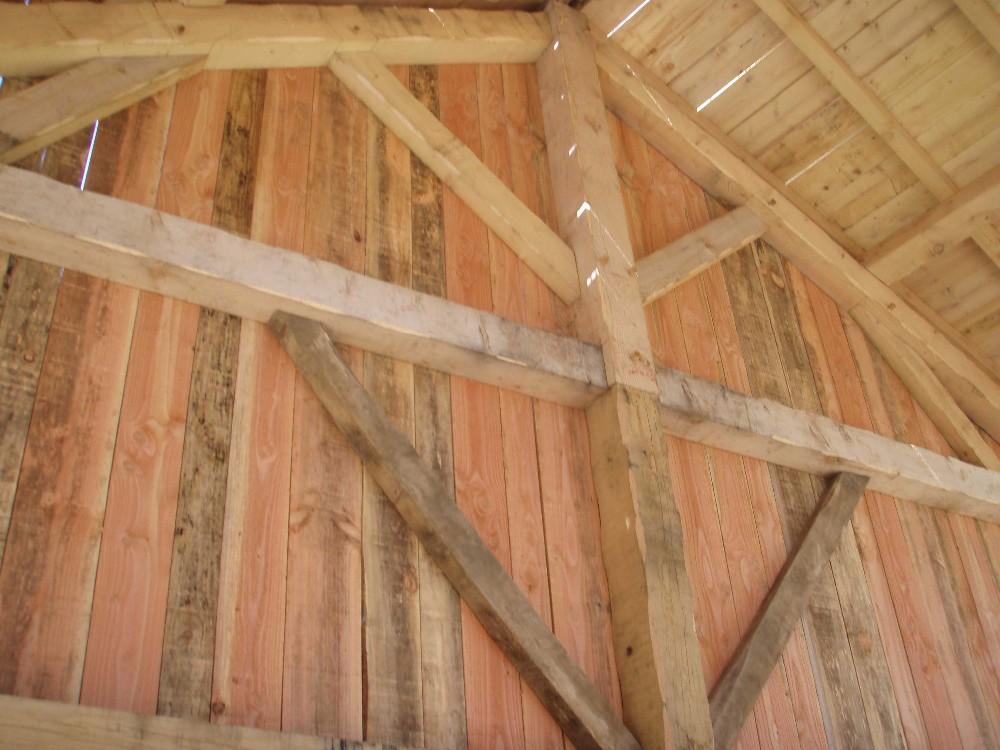 image45 - mur ossature bois charpente bois/metallique metal bardage bois composite caillebotis fabrication commande numerique construction assemblage