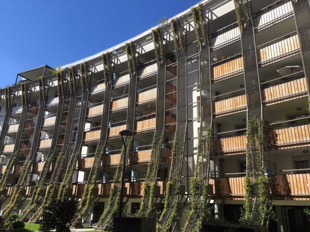 image1 - mur ossature bois charpente bois/metallique metal bardage bois composite caillebotis fabrication commande numerique construction assemblage