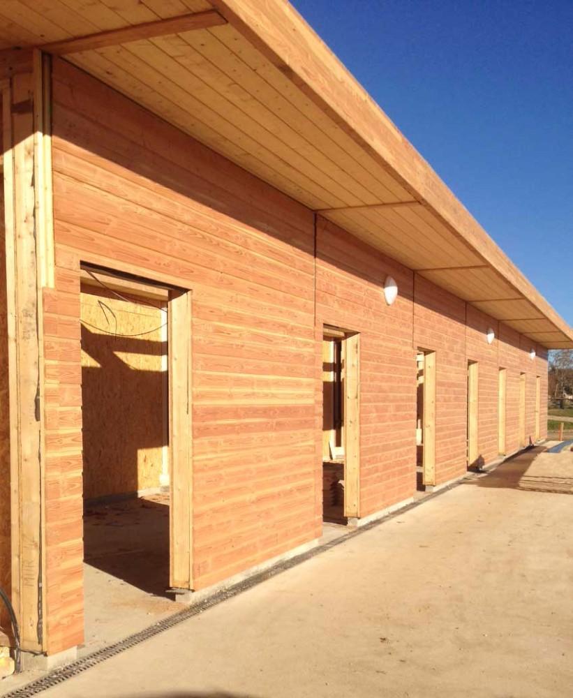 image6 - mur ossature bois charpente bois/metallique metal bardage bois composite caillebotis fabrication commande numerique construction assemblage
