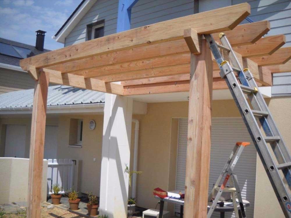 image8 - mur ossature bois charpente bois/metallique metal bardage bois composite caillebotis fabrication commande numerique construction assemblage