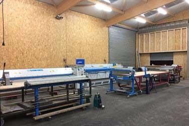 image15 - mur ossature bois charpente bois/metallique metal bardage bois composite caillebotis fabrication commande numerique construction assemblage