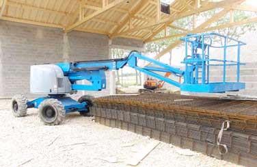 image21 - mur ossature bois charpente bois/metallique metal bardage bois composite caillebotis fabrication commande numerique construction assemblage