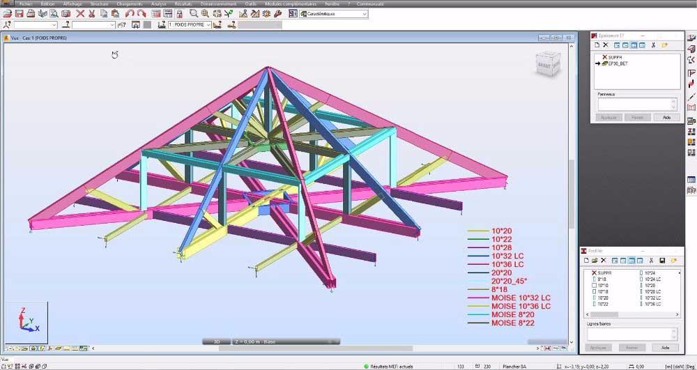image23 - mur ossature bois charpente bois/metallique metal bardage bois composite caillebotis fabrication commande numerique construction assemblage