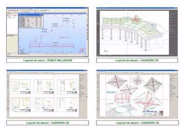 image29 - mur ossature bois charpente bois/metallique metal bardage bois composite caillebotis fabrication commande numerique construction assemblage