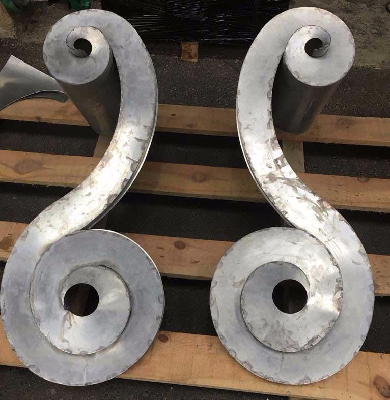 image31 - mur ossature bois charpente bois/metallique metal bardage bois composite caillebotis fabrication commande numerique construction assemblage