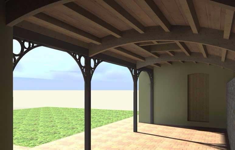 image36 - mur ossature bois charpente bois/metallique metal bardage bois composite caillebotis fabrication commande numerique construction assemblage