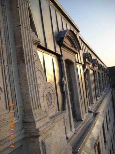 image107 - mur ossature bois charpente bois/metallique metal bardage bois composite caillebotis fabrication commande numerique construction assemblage