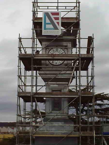 image123 - mur ossature bois charpente bois/metallique metal bardage bois composite caillebotis fabrication commande numerique construction assemblage