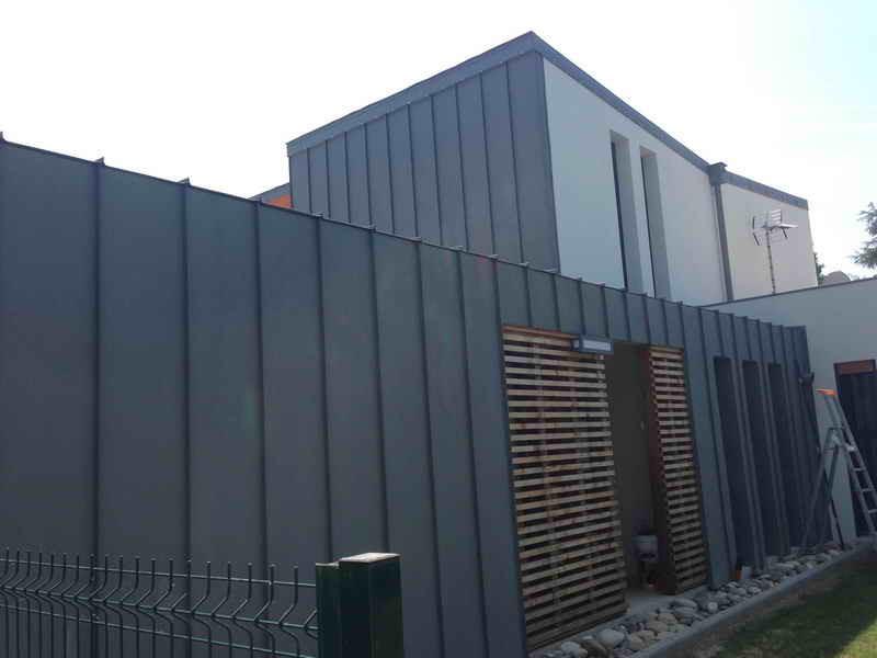 image96 - mur ossature bois charpente bois/metallique metal bardage bois composite caillebotis fabrication commande numerique construction assemblage