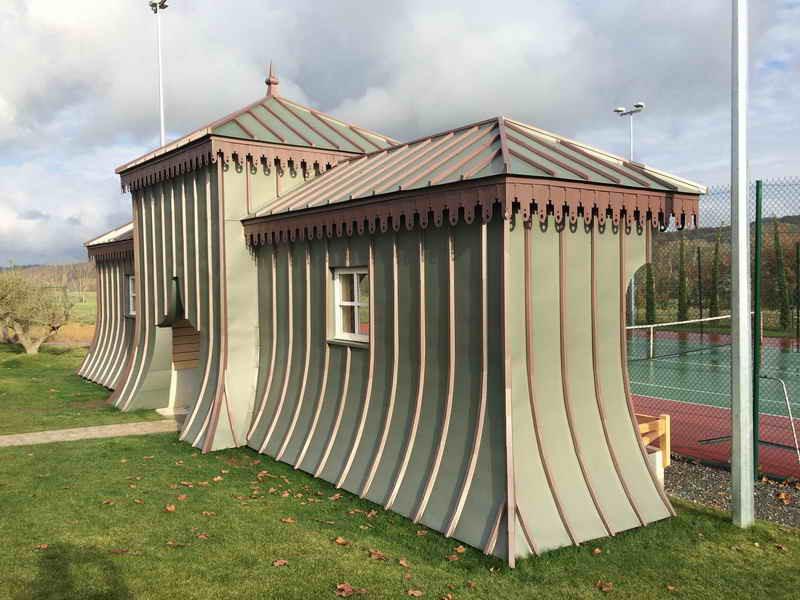 image97 - mur ossature bois charpente bois/metallique metal bardage bois composite caillebotis fabrication commande numerique construction assemblage