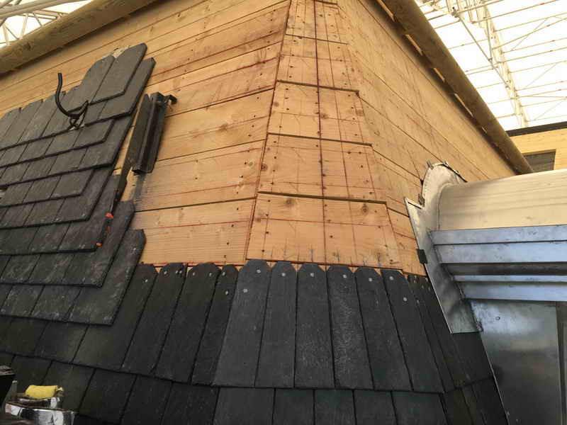 image102 - mur ossature bois charpente bois/metallique metal bardage bois composite caillebotis fabrication commande numerique construction assemblage