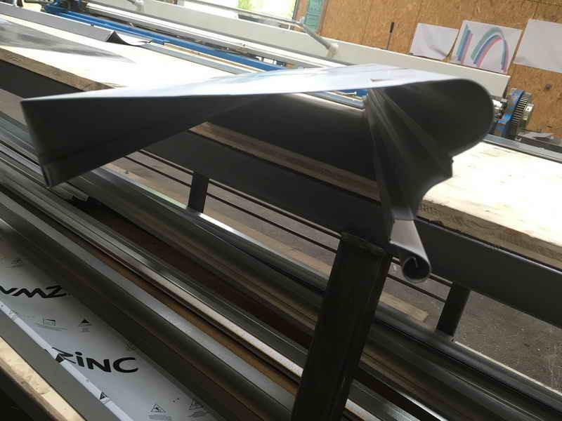 image134 - mur ossature bois charpente bois/metallique metal bardage bois composite caillebotis fabrication commande numerique construction assemblage