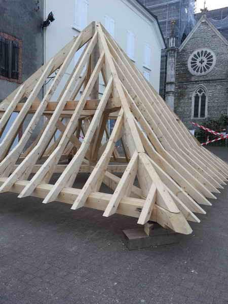 image59 - mur ossature bois charpente bois/metallique metal bardage bois composite caillebotis fabrication commande numerique construction assemblage