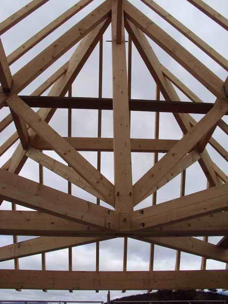 image61 - mur ossature bois charpente bois/metallique metal bardage bois composite caillebotis fabrication commande numerique construction assemblage