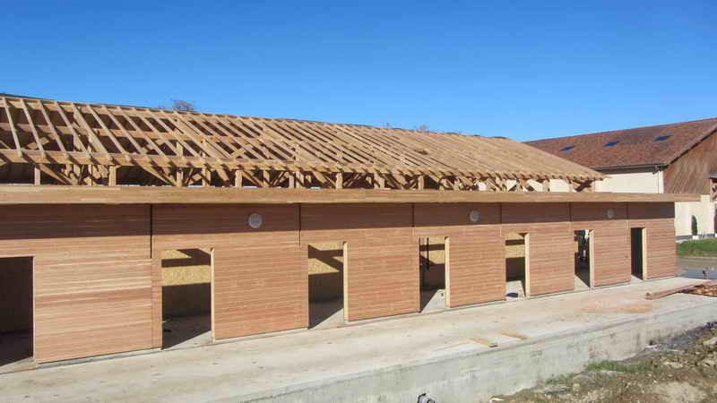 image56 - mur ossature bois charpente bois/metallique metal bardage bois composite caillebotis fabrication commande numerique construction assemblage
