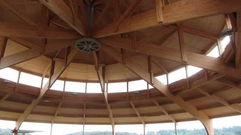 image62 - mur ossature bois charpente bois/metallique metal bardage bois composite caillebotis fabrication commande numerique construction assemblage