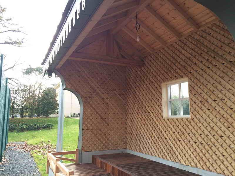 image66 - mur ossature bois charpente bois/metallique metal bardage bois composite caillebotis fabrication commande numerique construction assemblage