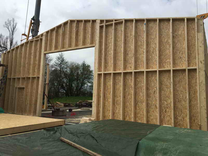 image68 - mur ossature bois charpente bois/metallique metal bardage bois composite caillebotis fabrication commande numerique construction assemblage