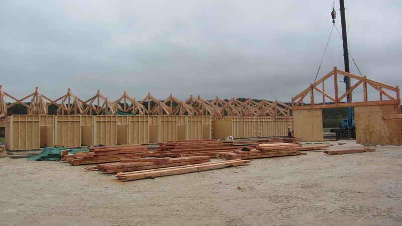 image58 - mur ossature bois charpente bois/metallique metal bardage bois composite caillebotis fabrication commande numerique construction assemblage