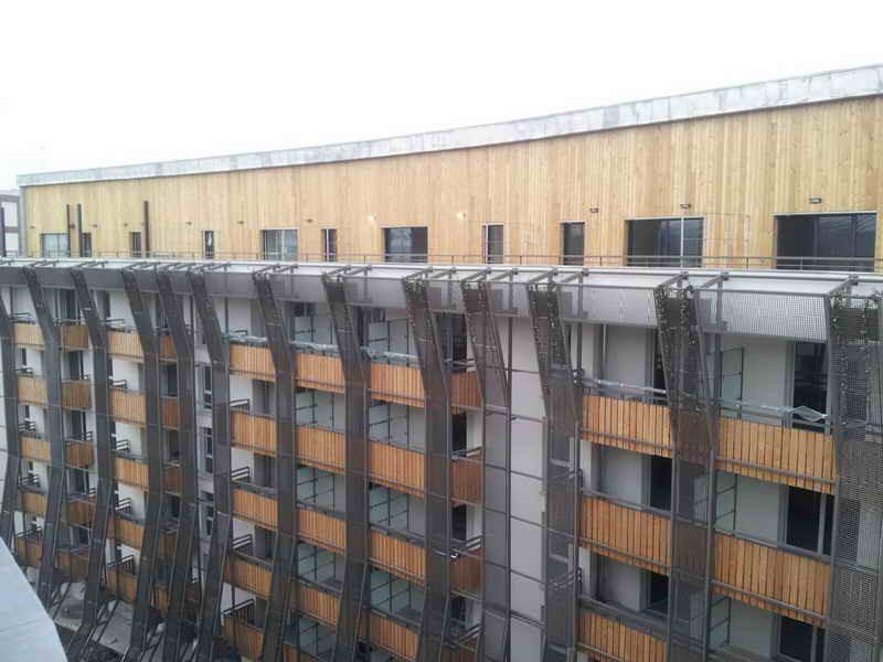 image72 - mur ossature bois charpente bois/metallique metal bardage bois composite caillebotis fabrication commande numerique construction assemblage